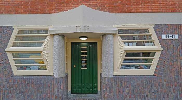 Amsterdamse school voorbeeld